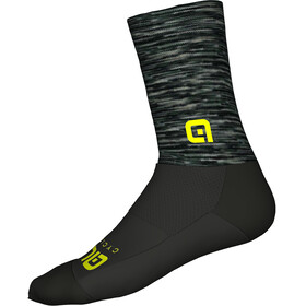 Alé Cycling Merino Logo Socks grey-black